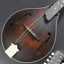 Demo Eastman Md415 F-style Black Mandoline Fichte Mahogany mit Case Vollmassiv