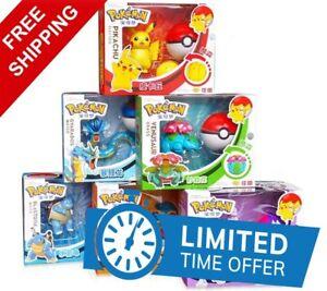 Pokemon Toys Set Game Poke Ball Pocket Monster Pikachu Action Figure Model Gift