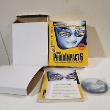 Photoimpact 6 -The Best Image Editor For The Web - Windows XP Conpatible