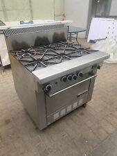 More details for commercial 6 burner gas cooker oven
