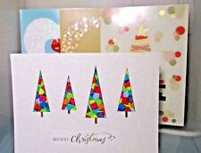 Lot of 4 Cards - Brookstone Merry Christmas Cards