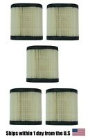 5 REPLACEMENT TECUMSEH ENGINE AIR FILTER 36905 LEV100 LEV115 LEV120 LV195EA