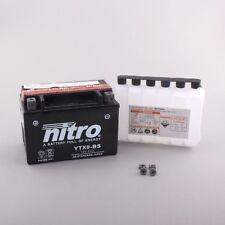 Batería para honda 650ccm NX 650 Dominator año de construcción 1988-2001 (ytx9-bs)