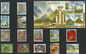 H 125 Ceylon & Sri Lanker / A Small Collection Early & Modern Lhm & Used