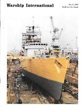 Warship International No.2 91 Constitution Hungry SMS Szent Istvan Italian Navy
