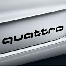 Original Audi Dekorfolie quattro brillantschwarz für A1 und S1 quattro schwarz