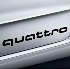 Original Audi Lámina Decorativa Quattro Negro Brillante para A1 y S1