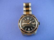 Invicta Men's 14121 Pro Diver Automatic Black Dial Two-Tone Watch NO RESERVE