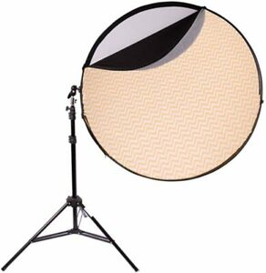 """Interfit Studio Accessory 42"""" 5in1 Reflector Photography Set with Arm & Stand"""