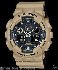 GA-100L-8A G-shock Casio Watches 200m Resin Band Analog Digital New Light