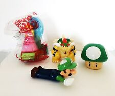 Super Mario Bros McDonalds 2017 Happy Meal Toy  Lot of 4 Toad Bowser