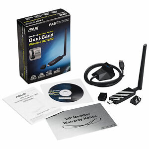 ASUS Wireless AC1300 USB 3.0 Wi-Fi Adapter with External High Gain Antenna