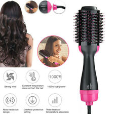 3 In 1 One Step Hair Dryer Comb Volumizer Brush Straightening Curling Iron Comb