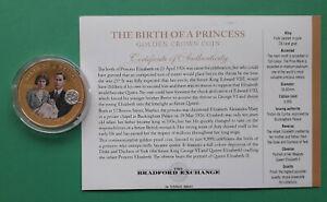 2014 Tristan da Cunha Crown coin - Birth of a Princess