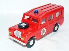 alfreedom plastic car Coche LAND ROVER Santana BOMBEROS firemen pompiers