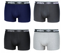Umbro 4 Pack Boxer Shorts Mens Underwear M-XL Cotton umum 0172-71 197-71