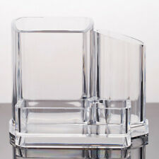 Acrylic Clear Cosmetic Organizer Makeup Brush Pen Storage Holder Stand Box Case