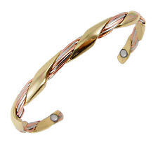 Sergio Lub Magnetic Cuff Bracelet - Magnetic Grapevine Small