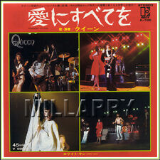 """QUEEN """"SOMEBODY TO LOVE b/w WHITE MAN"""" 7"""" JAPAN 45 RPM (NM)"""