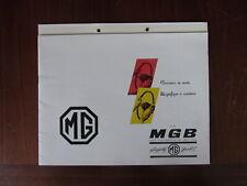 MGB 1800 1962 Prospekt Brochure