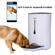 Automatic Pet Feeder Food Dispenser for Cat Dog WIFI Smart App Controlled 7L NEW