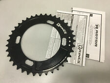 Rotor QRings BCD110x4 11-Speed Aluminum Road Inner Chainring (Black)