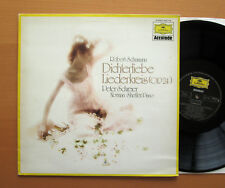 DG 1542 156 Schumann Dichterliebe Liederkreis Peter Schreier Norman Shetler NM