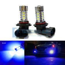 2x Dark Blue HB3 9005 LED DRL Bulbs 15W SMD 5730 High Bright Daytime Running