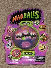 NEW 2016 Just Play Madballs Horn Head Foam Toy Ball Monster