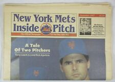 RARE VINTAGE NEW YORK METS  INSIDE PITCH NOVEMBER 1987 TERRY LEACH RICK AGUILERA
