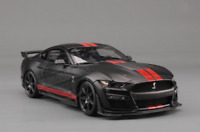Maisto GT500 1/18 Black Alloy Diecast Mustang Shelby GT Sports Racing Car Model