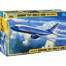 Zvezda 7027 737-700 / C-40B (Boeing) /american civil airliner/ 1/144