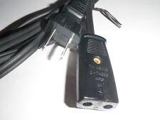 """GE General Electric Skillet Fry Pan Power Cord Model CAT. NO. 15C26 (2pin) 29"""""""