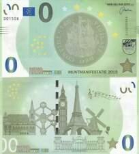 Biljet billet zero 0 Euro Memo - Muntmanifestatie 2019 (084)