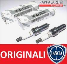 2 CANDELE ORIGINALI LANCIA YPSILON (312) 0.9 Twinair 63KW 86CV / METANO DAL 2011