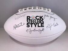 Pittsburgh steelers leather football signature night rooney tomlin