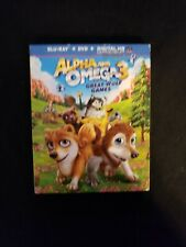 Alpha And Omega 3 Blu ray, Lot D3.