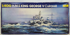 Heller HMS KING GEORGE V WWII British Battleship 1:400 Model Kit #1053