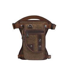 Canvas Leg Backpack School Hiking Laptop Travel Satchel Camping Rucksack Bag