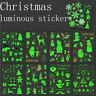 Christmas Luminous Snowman Glowing in Dark Waterproof Temporary Tattoo Stickers.