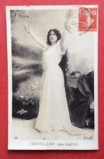 CPA. Louise GRANDJEAN dans Siegfried. Cliché NADAR. Opéra. Soprano.  1912
