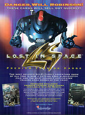 LOST IN SPACE MOVIE TRADING CARDS SELL SHEET