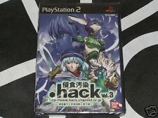 Playstation 2 PS2 Import New Game .Hack Vol 3 w/DVD Region Locked