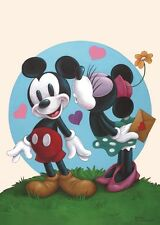 WALT DISNEY ART PRINT POSTER - True Love - MICKEY MOUSE OUT OF PRINT LAST ONES