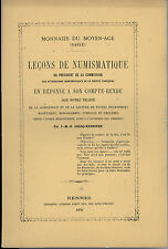 * Lecoq-Kerneven, Leçon de Numismatique, Rennes 1870