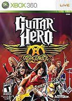 Guitar Hero: Aerosmith  (Xbox 360, 2008) GAME ONLY NEW FACTORY SEALED!