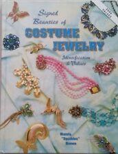 Price Guide Collector'S Book Costume Jewelry Signed Beauties Memorabilia