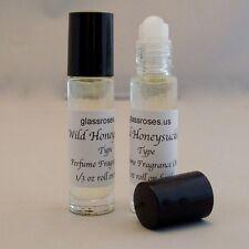 Wild Honeysuckle Perfume Body Oil Fragrance Womens (Two) 1/3 Oz Roll On Bottle