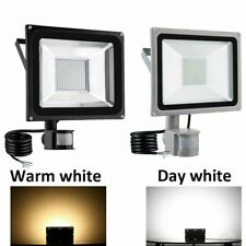 More details for led floodlight pir sensor motion 10/20/30/50/100w outdoor security flood light