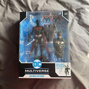 DC Multiverse McFarlane BATMAN BEYOND Build A Figure CTB Futures End **IN HAND**